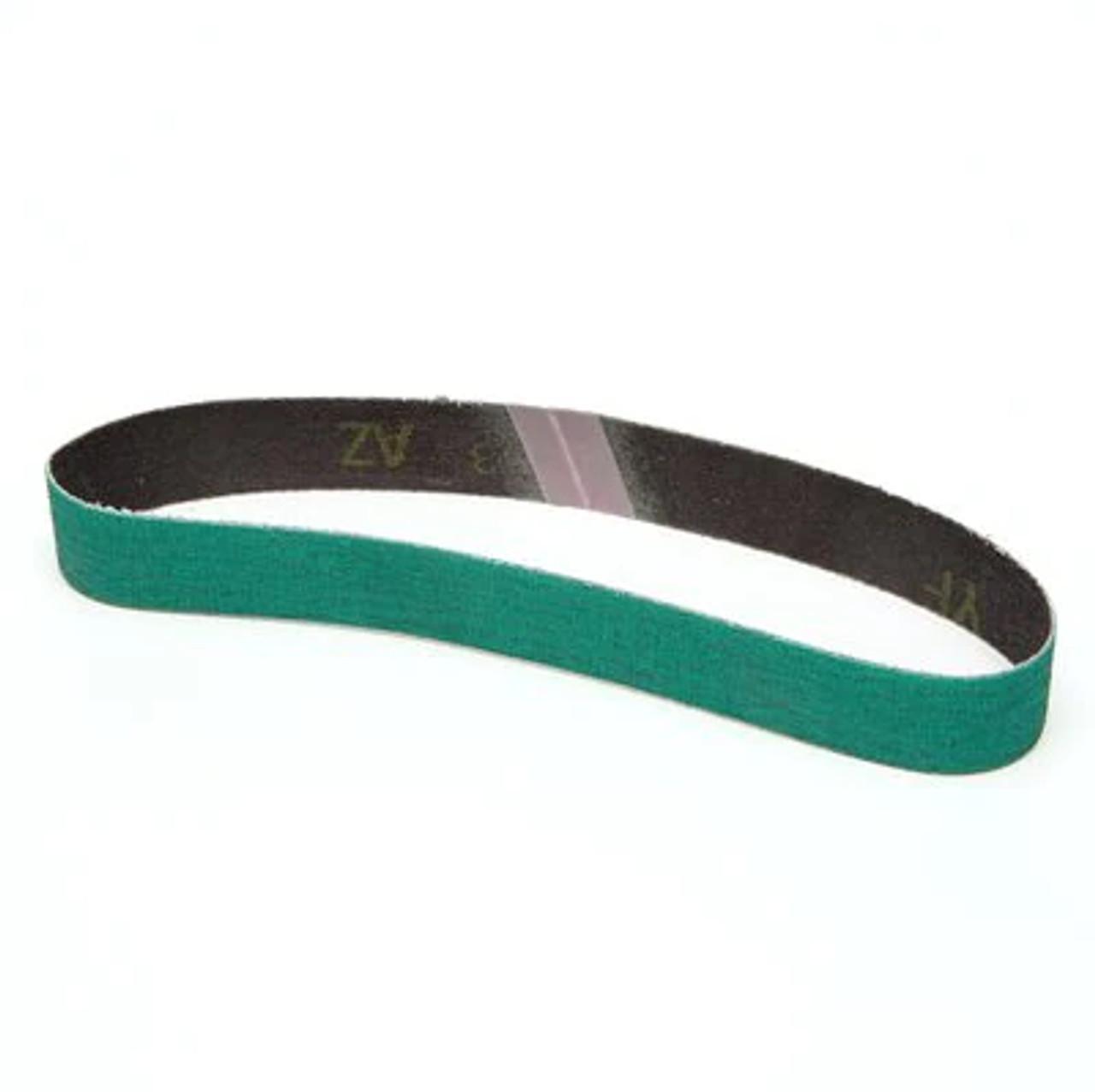 3M™ Cloth Belt 577F, 80 YF-weight, 1/2 in x 18 in, Fabri-lok, Full-flex