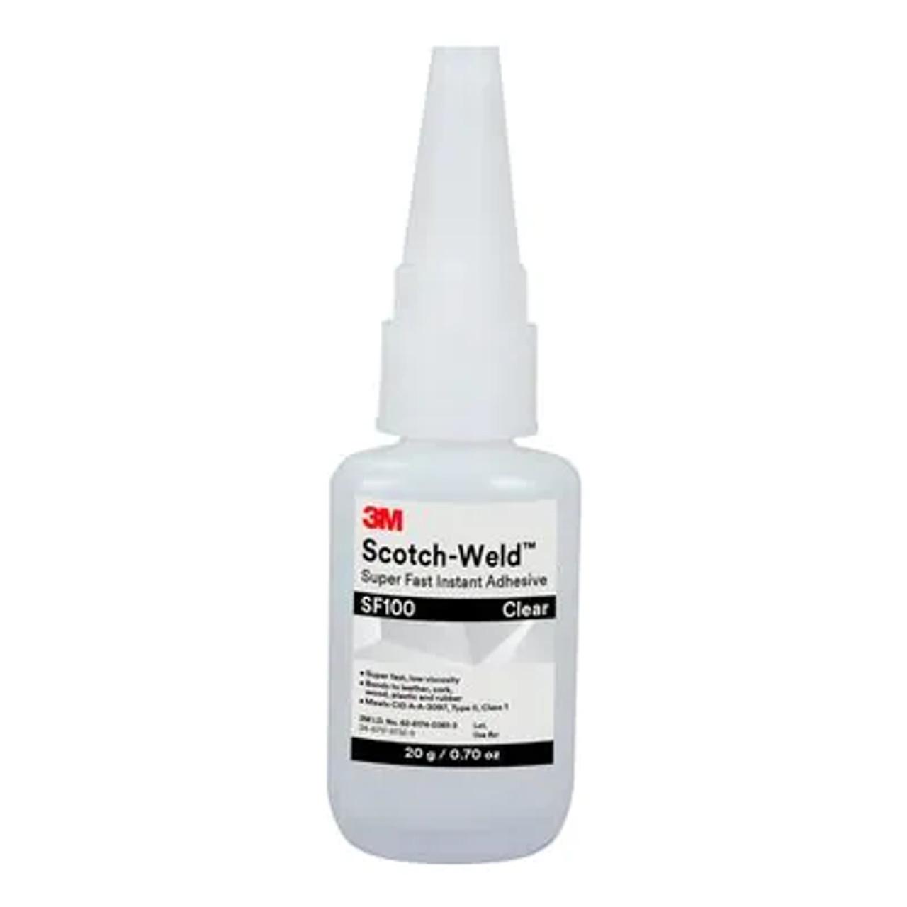 3M™ Scotch-Weld™ Super Fast Instant Adhesive SF100, Clear, 20 Gram Bottle