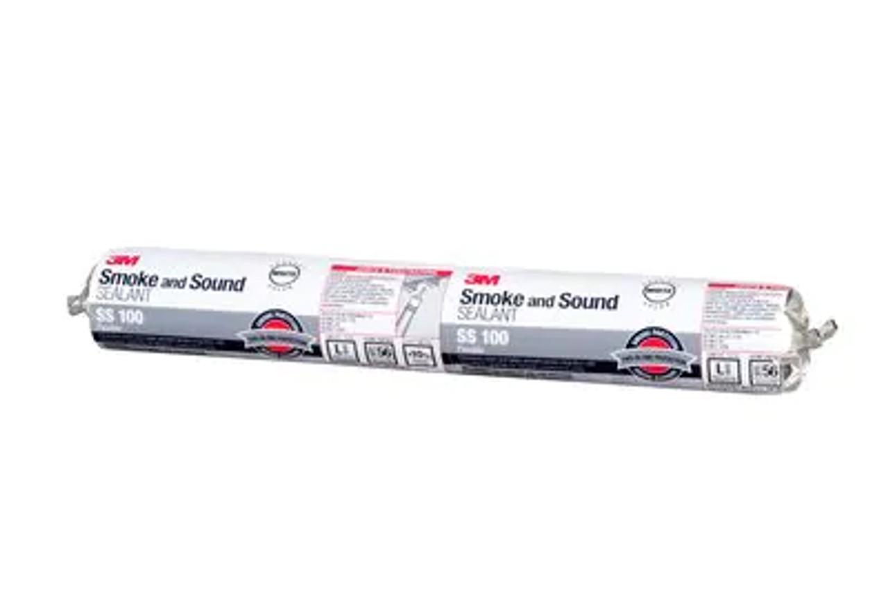 3M™ Smoke and Sound Sealant SS 100, White, 20 fl oz Sausage Pack