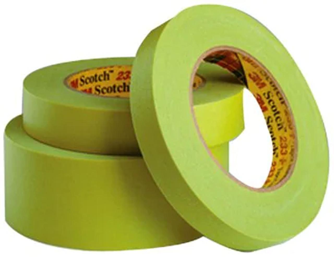 Scotch® Performance Masking Tape 233+ 26344, Green, 6 mm x 55 m