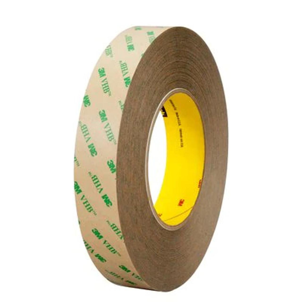 3M™ VHB™ Adhesive Transfer Tape F9469PC, Clear, 1 in x 60 yd, 5 mil