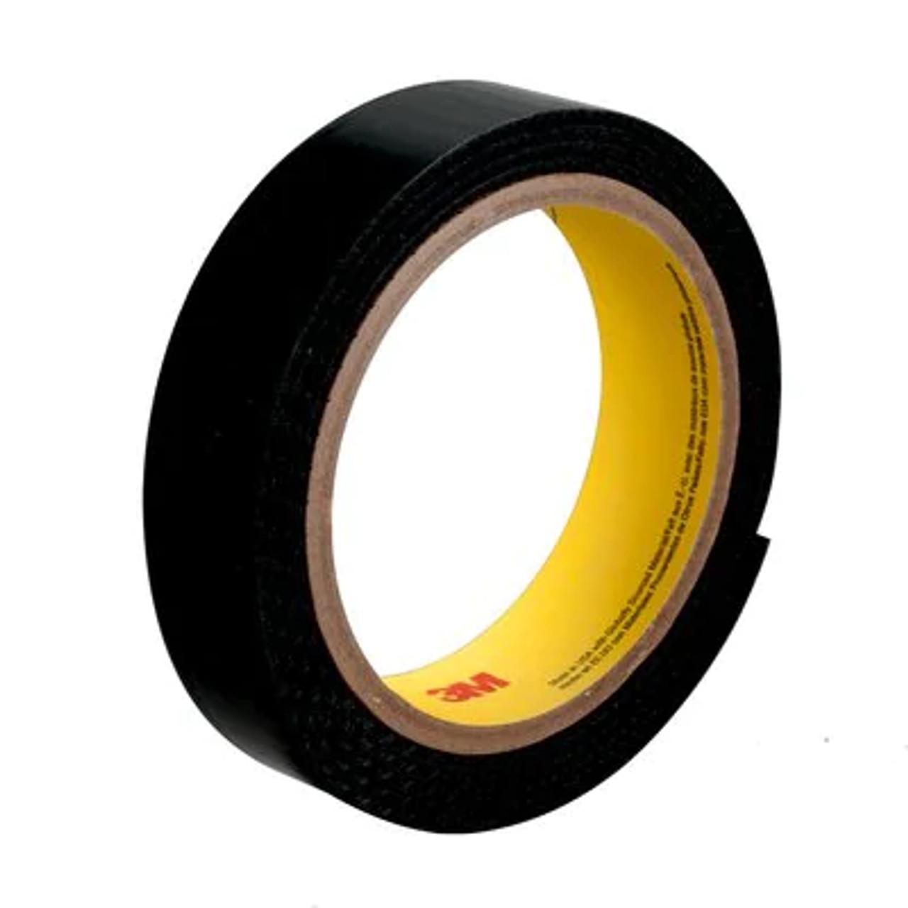 3M™ Plasticizer Resistant Loop Fastener SJ3523, Black, 1 in x 50 yd