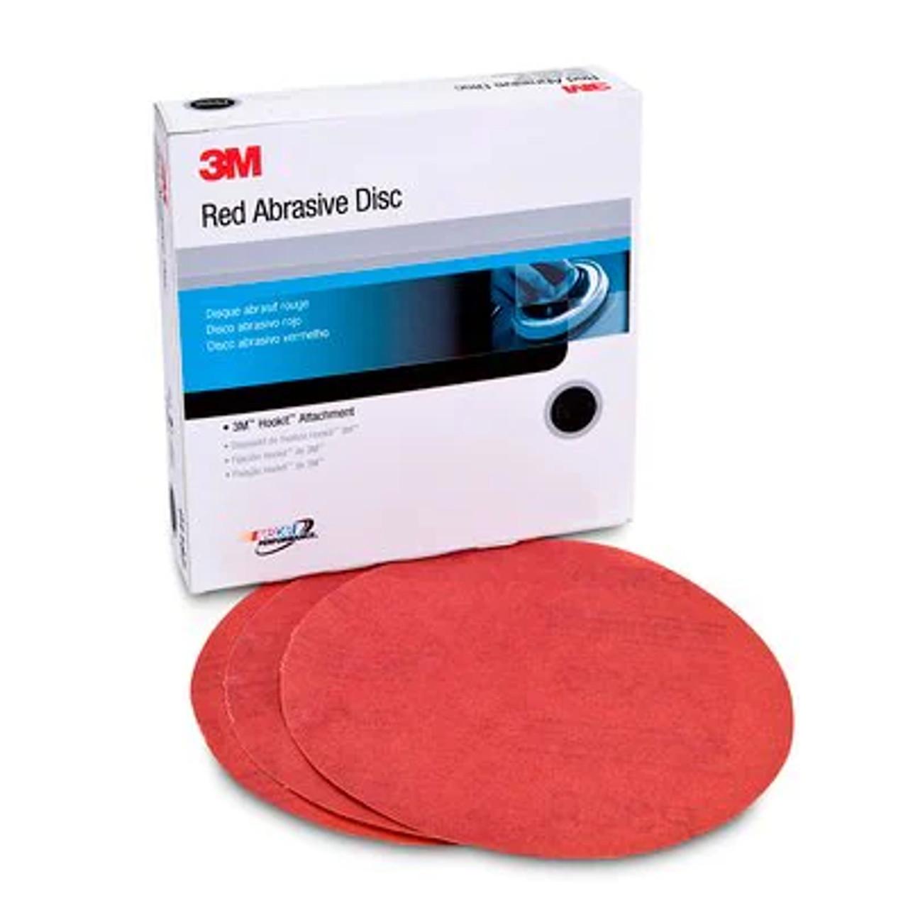3M™ Hookit™ Red Abrasive Disc, 01223, 6 in, P150