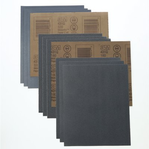 3M™ Wetordry™ Paper Sheet 431Q, 150 C-weight, 9 in x 11 in
