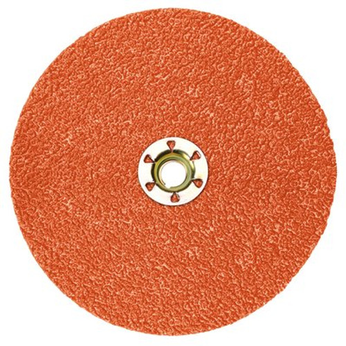 3M™ Cubitron™ II Fibre Disc 987C TN Quick Change, 5 in 36+, 25  100 per case