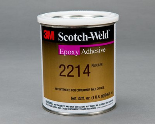 3M™ Scotch-Weld™ Epoxy Adhesive 2214 Hi-Temp New Formula Gray, 6 fl oz *NON RETURNABLE ITEM. ADDITIONAL SURCHARGE APPLIES TO THIS ITEM. CHARGE WILL NOT SHOW ON INITIAL CONFIRMATION. SEE PRODUCT DESCRIPTION FOR MORE INFO*