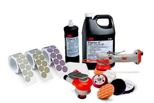 3M™ Mini Random Orbital Nib Sander 20244, 1-1/4 in x 3/16 in Orbit, 1 per case