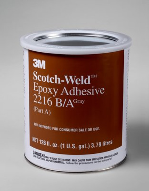3M™ Scotch-Weld™ Epoxy Adhesive 2216 Translucent, Part B/A, 1 pt kit