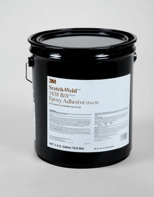 3M™ Scotch-Weld™ Epoxy Adhesive 1838L Translucent, Part B/A, 1 qt Kit