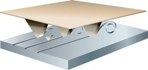 3M™ Cubitron™ II Flap Disc 967A, T29 4 in x 3/8-24 60+ Y-weight, 10 per case