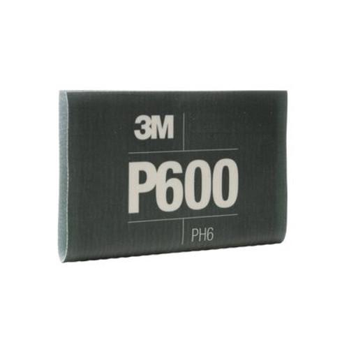 3M™ Flexible Abrasive Hookit™ Sheet, 34339, 5.5 in x 6.8 in, P600, 25 sheets per box, 5 boxes per case
