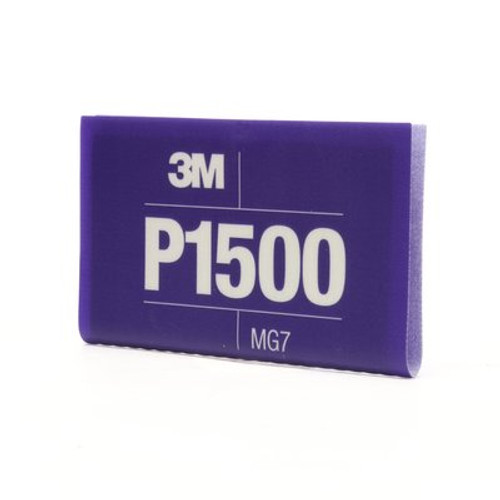 3M™ Flexible Abrasive Hookit™ Sheet, 34343, 5.5 in x 6.8 in, P1500, 25 sheets per box, 5 boxes per case