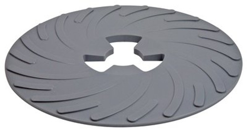 3M™ Disc Pad Face Plate 14270, 4-1/2 in Hard Black, 10 per case