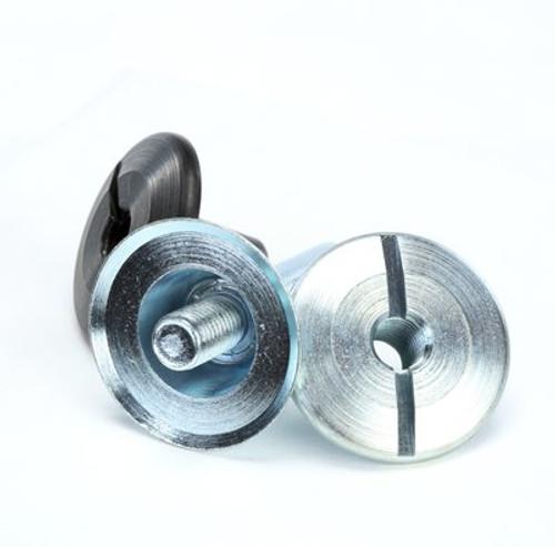 3M™ Unitized Wheel Mandrel 990, 1-3/4 in x 1/4 in x 1 in, 5 per case