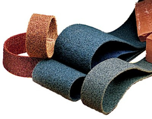 Scotch-Brite™ Surface Conditioning Belt, SC-BS, A/O Medium, 3/4 in x 18 in
