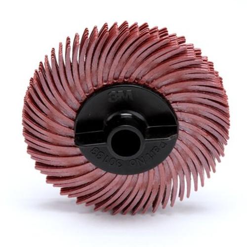 Scotch-Brite™ Radial Bristle Disc Thin Bristle, 2 in x 3/8 in 220, 80 per case