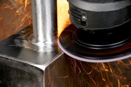Scotch-Brite™ Light Grinding and Blending Disc, 5 in x NH Super Duty A CRS, 50 per case