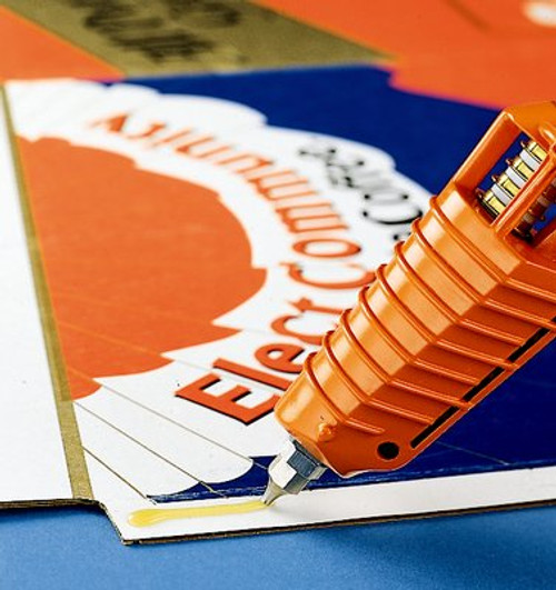 3M™ Scotch-Weld™ Hot Melt Adhesive 3762 LM AE Light Amber, .45 in x 12 in Stick (11 lb), 1 per case