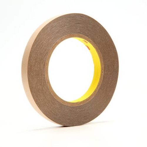 3M™ Double Coated Tape 9500PC Clear, 0.5 in x 36 yd 5.6 mil