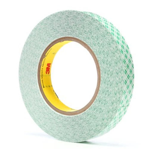 3M™ Double Coated Film Tape 9589 White, 3/4 in x 36 yd 9 mil