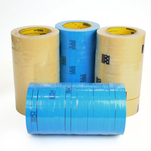 3M™ Strapping Tape 8896 Blue, 24 mm x 55 m, 36 rolls per case
