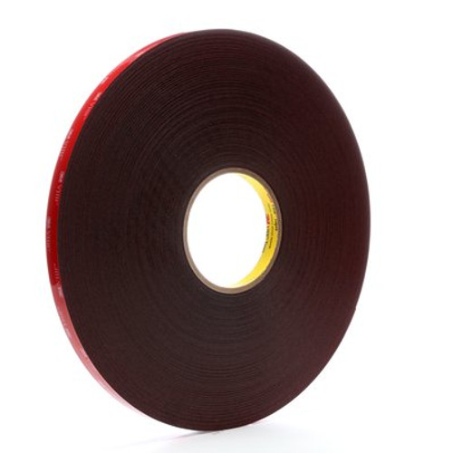 3M™ VHB™ Tape 5925 Black, 1/2 in x 72 yd 25.0 mil