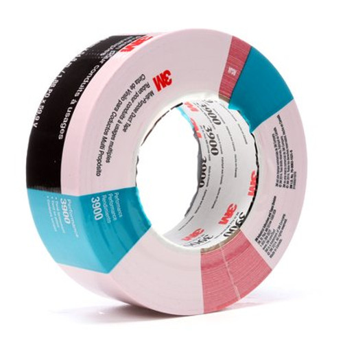 3M™ Multi-Purpose Duct Tape 3900 Red, 48 mm x 54.8 m 8.1 mil, 24 per case Individually Wrapped