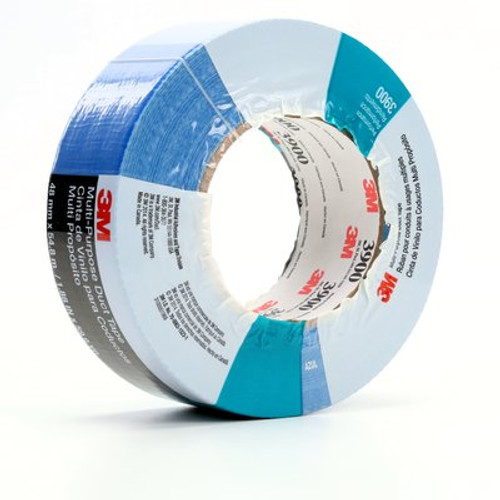 3M™ Multi-Purpose Duct Tape 3900 Blue, 48 mm x 54.8 m 7.7 mil, 24 per case Individually Wrapped