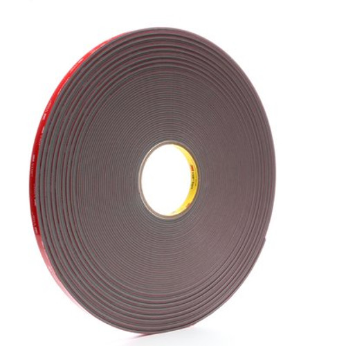 3M™ VHB™ Tape 4991 Gray, 1/2 in x 36 yd 91.0 mil