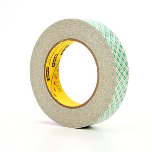 3M™ Double Coated Paper Tape 410M, 1 in x 36 yd 5.0 mil, 36 rolls per case Boxed