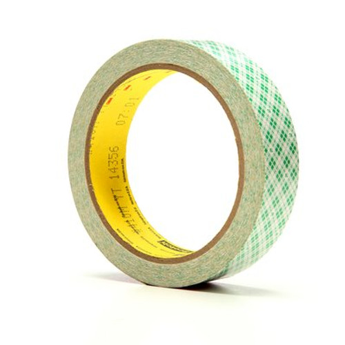 3M™ Double Coated Paper Tape 410M, 1 in x 10 yd 5.0 mil