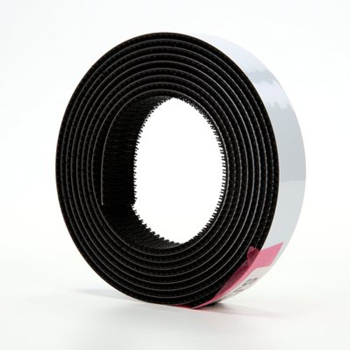 3M™ Dual Lock™ Reclosable Fastener TB3540 250/250 Black, 1 in x 10 ft mated strip