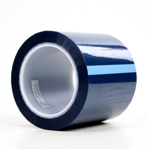 3M™ Polyester Tape 8991 Blue, 4 in x 72 yd 2.4 mil, 8 rolls per case Bulk
