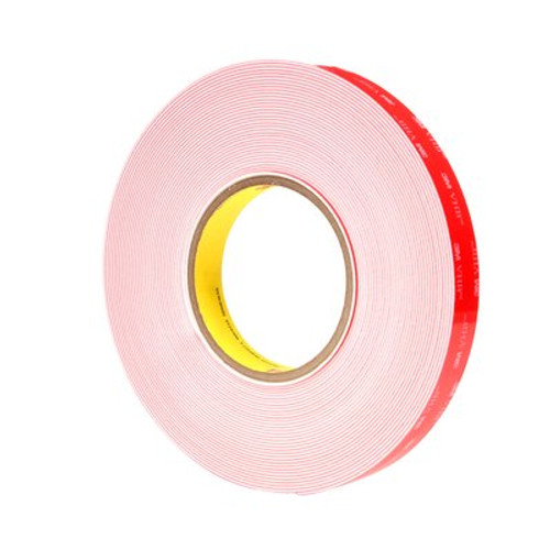 3M™ VHB™ Heavy Duty Mounting Tape 5952WF White, 3/4 in x 15 yd 45.0 mil