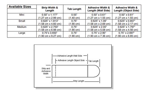 Command™ Medium Refill Strips 17021P-ES