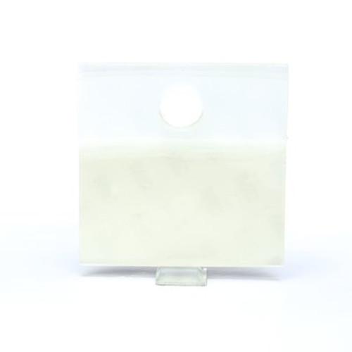 3M™ Hang Tab 1076 Clear, 2 in x 2 in, 10 tabs per pad 50 pads per carton 10 cartons per case
