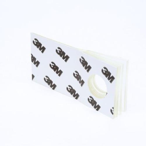 3M™ Hang Tab 1074 Clear, 1 in x 2 in, 10 tabs per pad 100 pads per carton 10 cartons per case