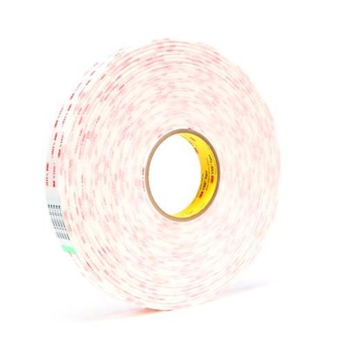 3M™ VHB™ Tape 4950 White, 1 in x 36 yd 45.0 mil