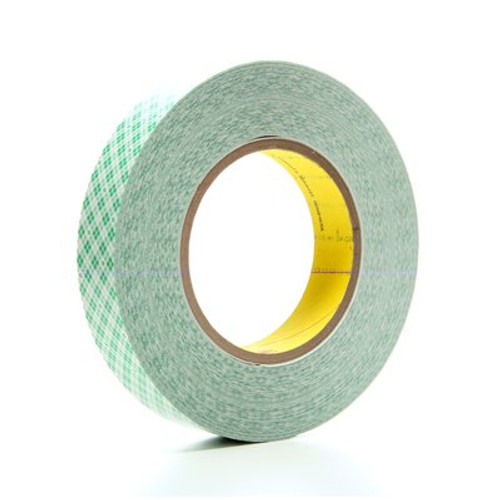 3M™ Double Coated Film Tape 9589 White, 1 in x 36 yd 9.0 mil