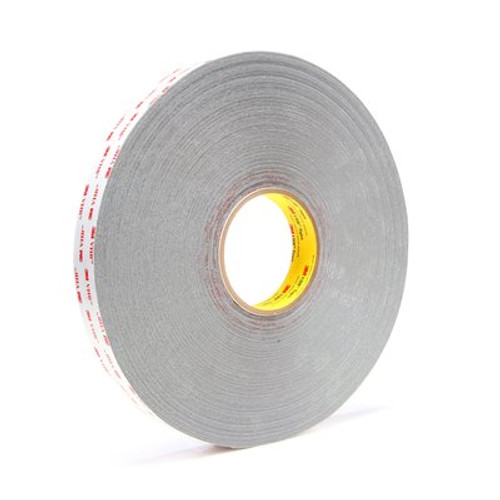 3M™ VHB™ Tape 4936 Gray, 1 in x 72 yd 25.0 mil