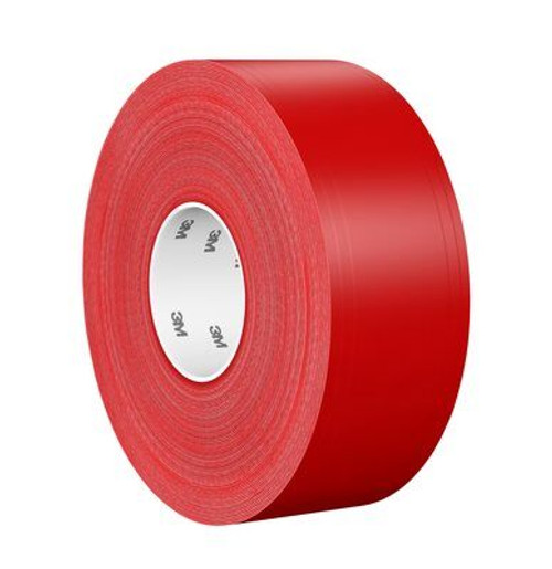 3M™ Ultra Durable Floor Marking Tape 971 Red, 4 in x 36 yd, 1 per case