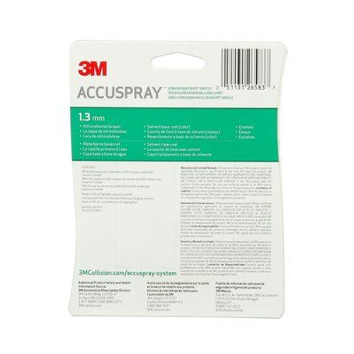 3M™ Accuspray™ Refill Pack for PPS™ Series 2.0, 26583, Green, 1.3 mm, 5 per case