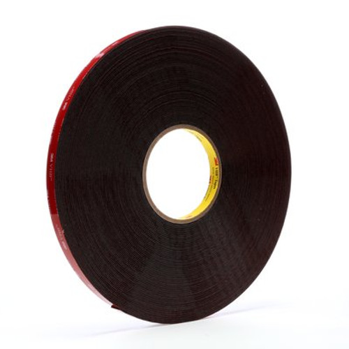 3M™ VHB™ Tape 5952 Black, 1/2 in x 36 yd 45.0 mil