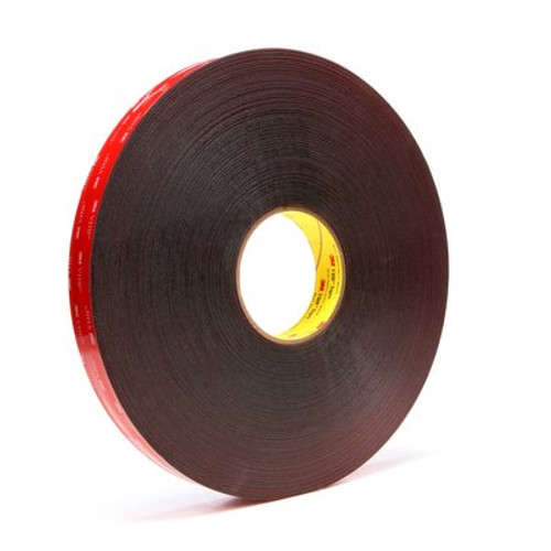 3M™ VHB™ Tape 5925 Black, 1 in x 72 yd 25.0 mil