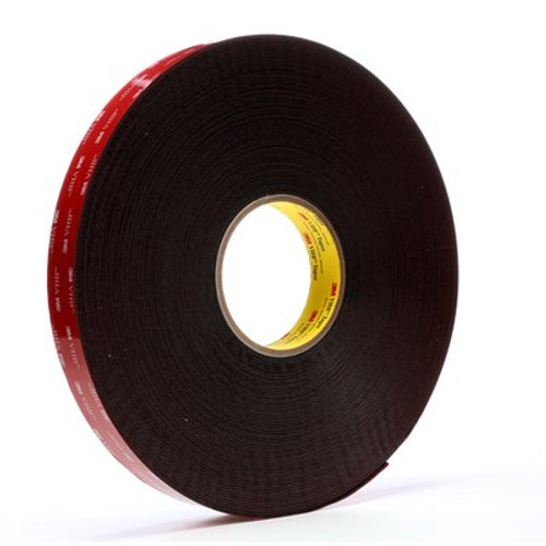 3M™ VHB™ Tape 5952 Black, 1 in x 36 yd 45.0 mil