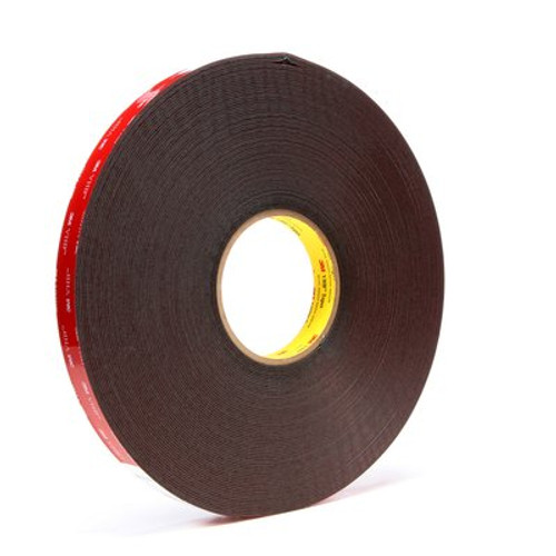 3M™ VHB™ Tape 5952 Black, 3/4 in x 36 yd 45.0 mil