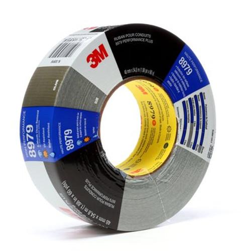 3M™ Performance Plus Duct Tape 8979 Olive, 48 mm x 55 m 12.1 mil, 24 per case