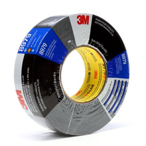 3M™ Performance Plus Duct Tape 8979 Black, 48 mm x 54.8 m individual wrapped