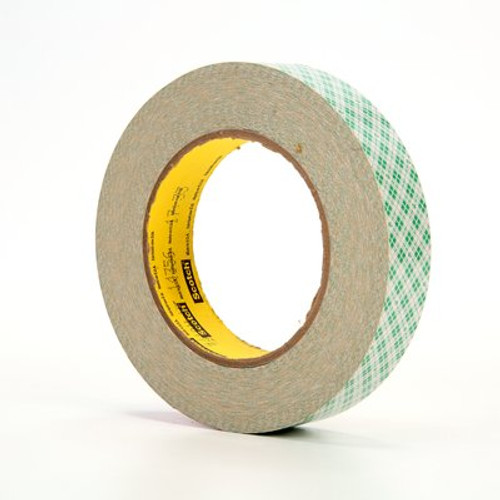 3M™ Double Coated Paper Tape 410M, 1 in x 36 yd 5.0 mil