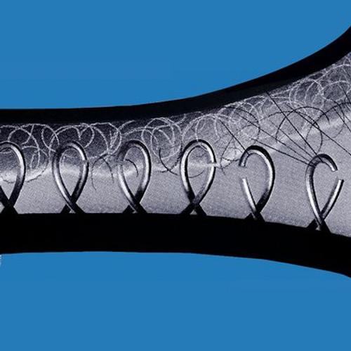 3M™ Fastener SJ3418FR Loop Flame Resistant Black, 1 in x 50 yd 0.15 in Engaged Thickness